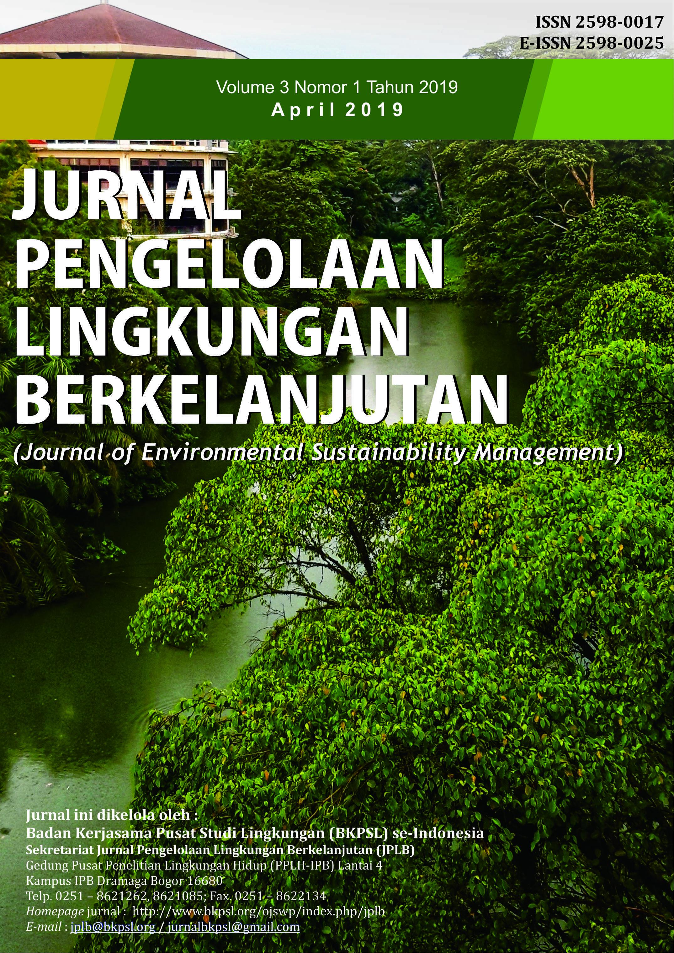 JPLB, Vol 3, No 1 (2019)