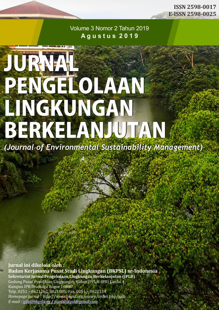 JPLB, Vol 3, No 2 (2019)
